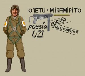 poesía UZI semiatuomática