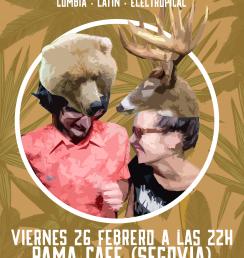 Afrobeat Oso y Cierva Rama Café Segovia