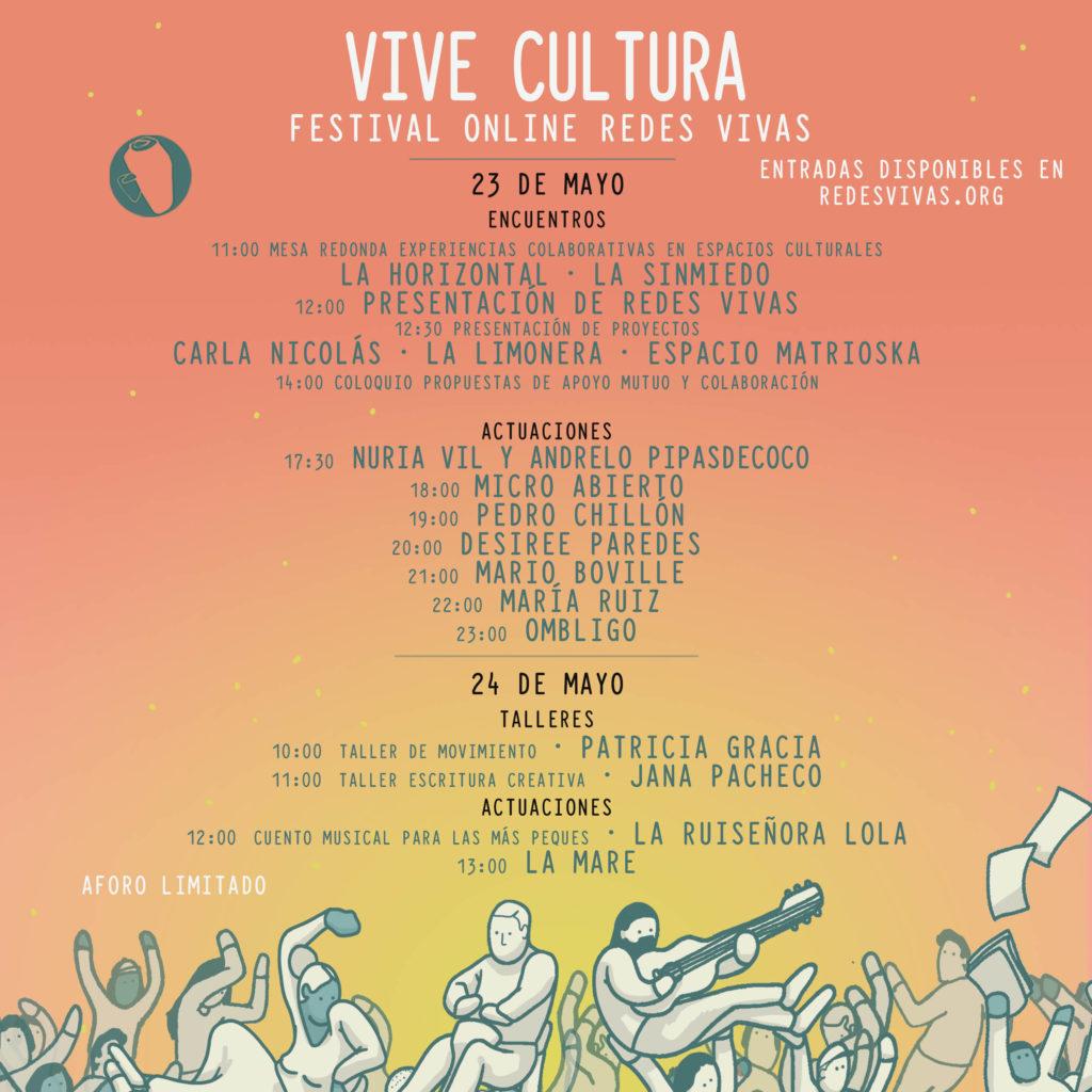 cartel de VIVE CULTURA